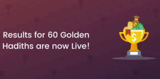 Results for 60 Golden Hadiths are now Live!
